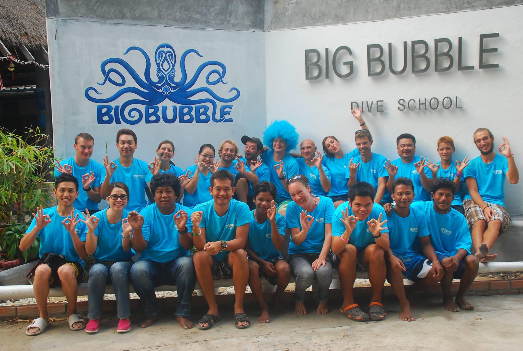 Big bubble koh tao thailand - Koh tao dive center ...