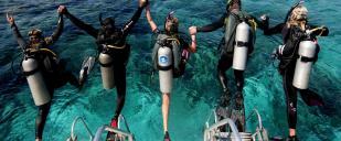 Adrenalised Diving
