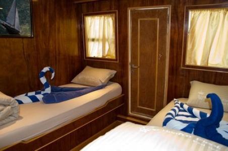 Twin Berth Cabin (Lower Deck)