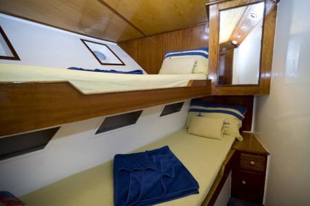 Twin Berth Cabin (Bunk Style)