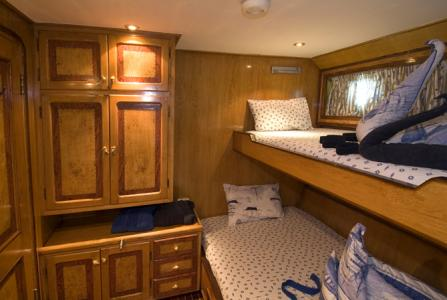Twin Berth Cabin (Upper Deck)