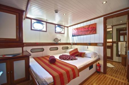 Double Central Cabin (Silhouette, Fregate)