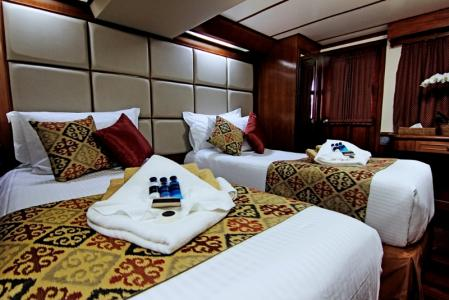 Deluxe Cabin (Twin or Double bed)