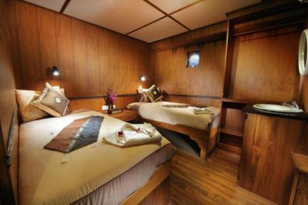 Non‐ensuite (Twin Share) Cabin (Lower Deck)