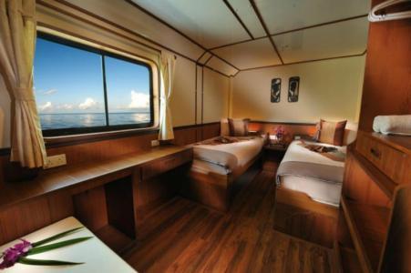 Deluxe En‐suite Twin Share Cabin (Main Deck)