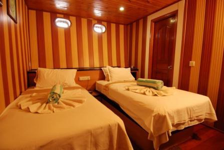 Standard  Double / Twin Cabin (Upper Deck)