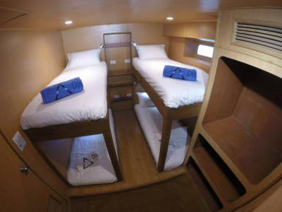 Quad Ensuite Cabin (Lower Deck)