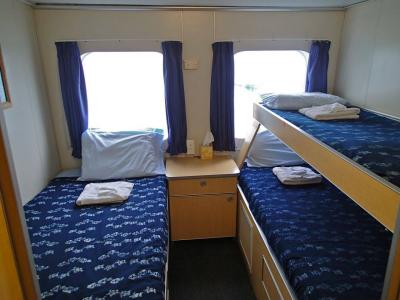 Twin / Triple Cabin (3 & 4)