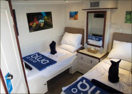 Superior Twin Cabin (Upper Deck)