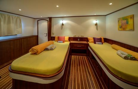 Deluxe Twin Cabin (Main Deck)