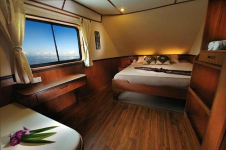 Twin / Double Cabin (Upper Deck)