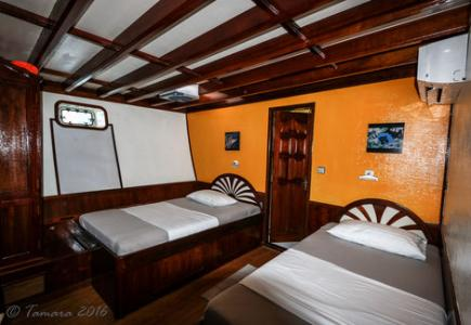 Twin Cabin # 3, 5 (Lower Deck)
