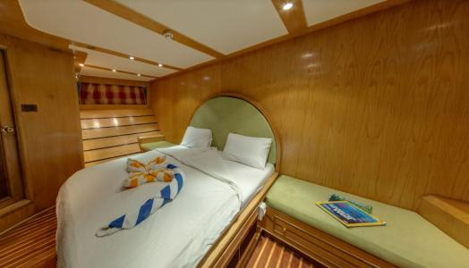 Double Berth Cabin (Upper Deck)
