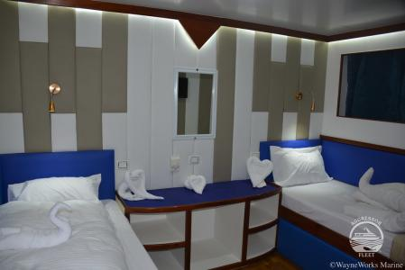 Deluxe Staterooms (# 1-7, 9,10 & 11)