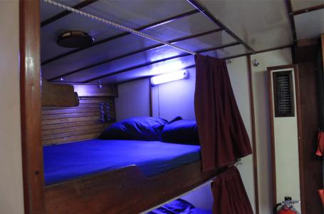 Dormitory Style Cabin Double Bed