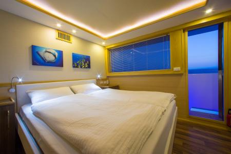 Sea View Double Bed Cabin