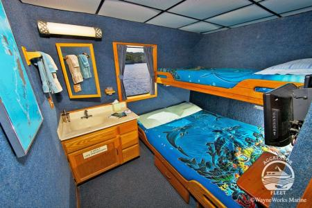 Deluxe Stateroom (# 1, 2, 3, 4, 5, 6, 7, 8)