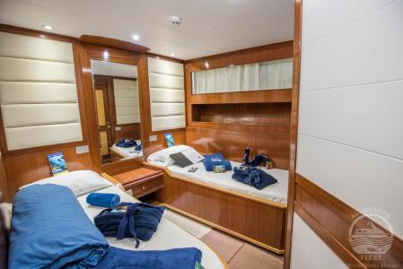Deluxe Staterooms (# 1-8)