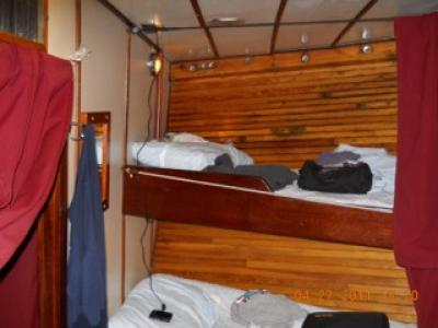 Dormitory Style Cabin Twin Bed