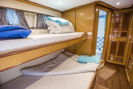 Twin Berth Cabin (bunk-style)