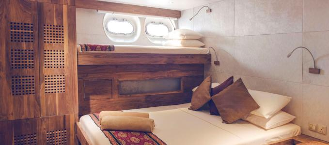 Sea Star Cabin Twin / Triple