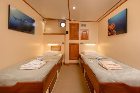 Twin Cabin (# 2, 5)