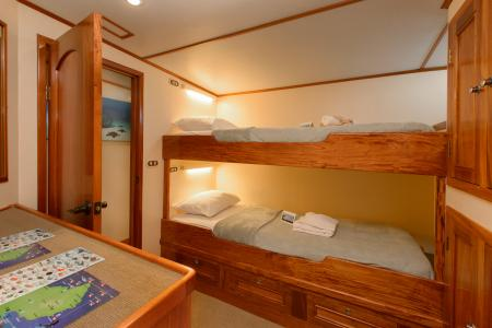 Twin Bunk Bed Cabin (# 1, 3, 6)