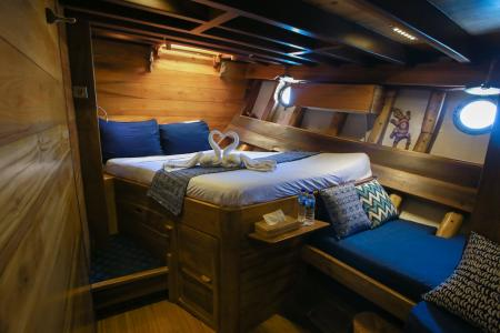 Double + Bunk Bed Cabin