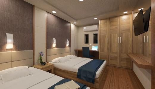 Double with Single Bed Cabin