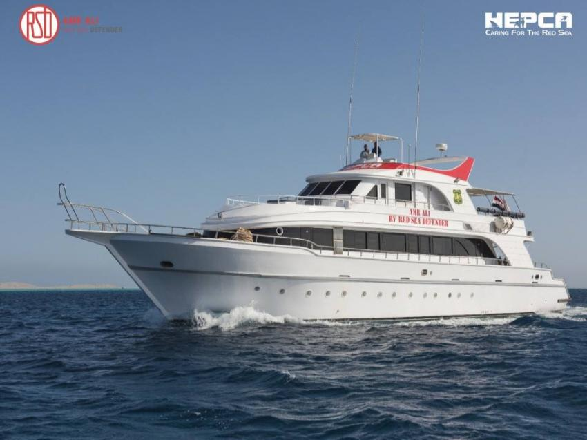 Amr Ali Red Sea Defender Liveaboard